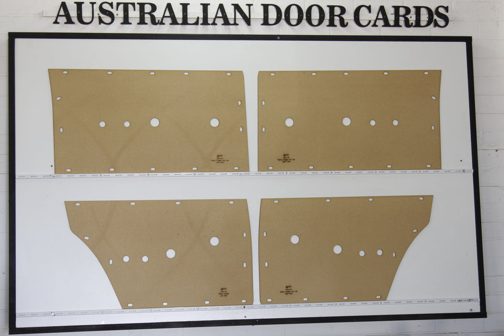 Ford Falcon XR Door Cards Sedan/Wagon Trim Panels