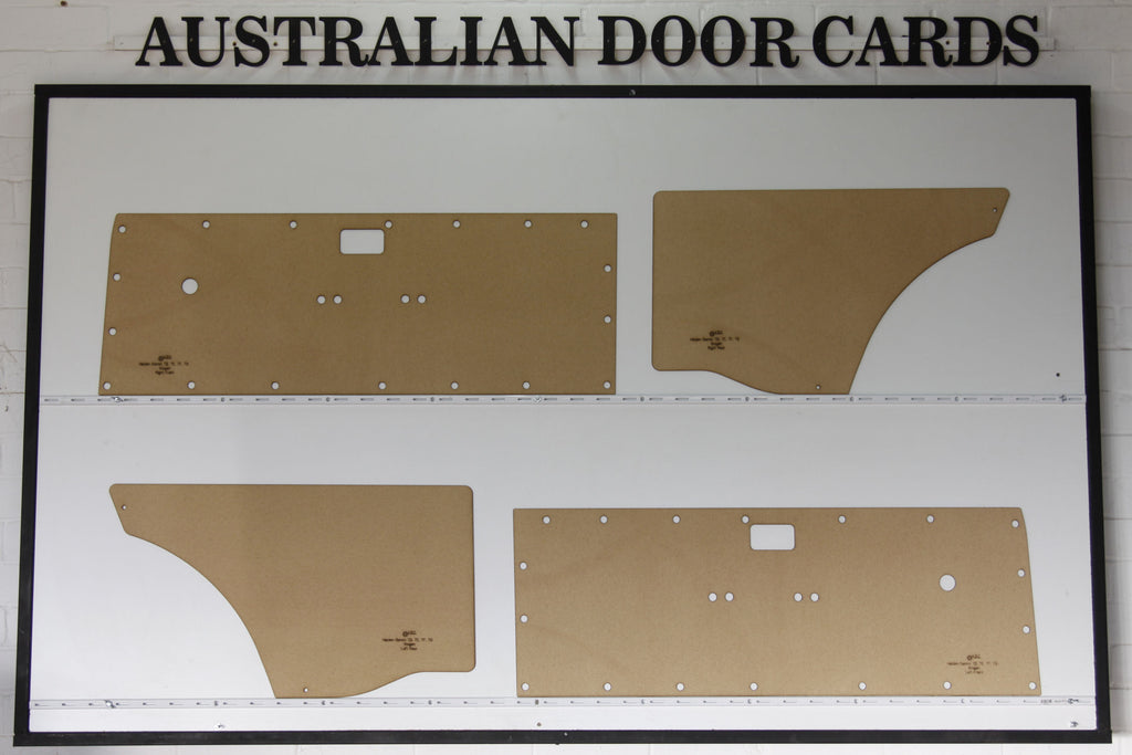 Holden Gemini TD, TE, TF, TG Door Cards - Wagon Trim Panels