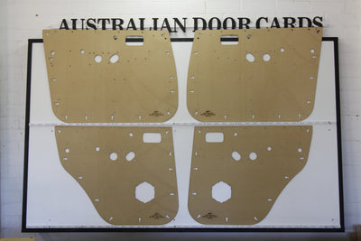 Toyota 80 Series Landcruiser Door Cards - Electric Model - SUV Trim Panels