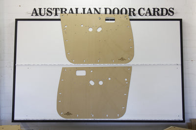Toyota 80 Series Landcruiser Front Door Cards - Electric Model - Ute, Single Cab, SUV Trim Panels