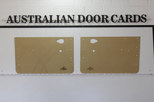 Mazda 1200, 1300 Front Door Cards -  Ute, Sedan, Wagon (4 Door Models) Trim Panels