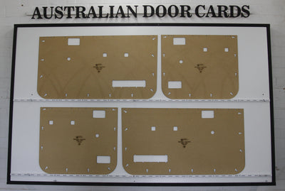 Mazda Bravo B2600 / Ford Courier PC, PD 1990-1998 Door Cards - Twin Cab Ute Trim Panels