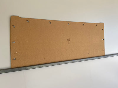 Subaru Brumby Brat 1978-1981 1600 Ute Masonite Back Board. Blank Trim Panels