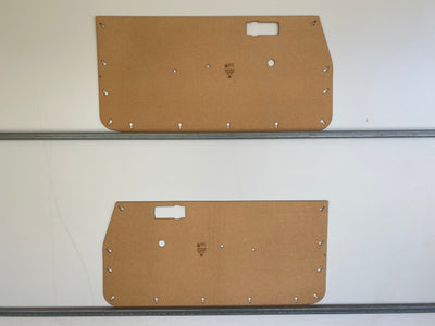 Subaru Brumby Brat 1978-1981 1600 Ute Full Height Door Cards. Blank Trim Panels
