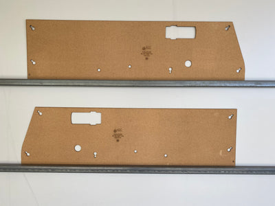 Subaru Brumby Brat 1978-1981 1600 Ute Half Height Door Cards. Blank Trim Panels