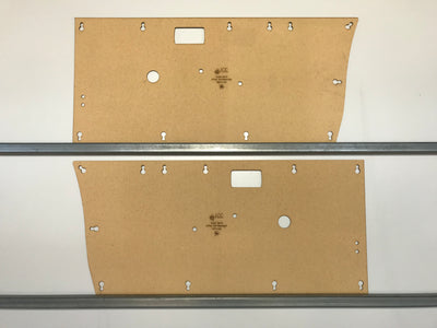 Suzuki Sierra, Samurai Front Masonite Door Cards