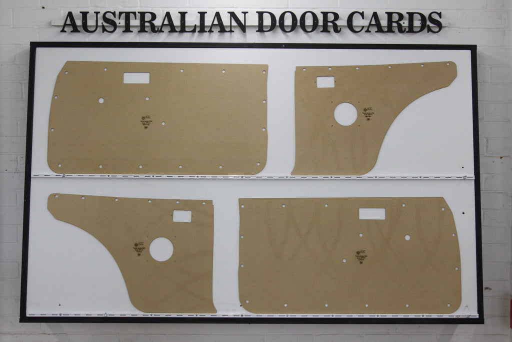 Toyota Corolla KE20 Door Cards (1970-1974) - 2 Door Coupe (With Speaker Holes)