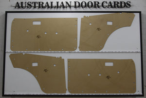 Toyota Corolla KE30-KE55 Door Cards - Coupe Trim Panels