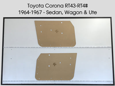 Toyota Corona RT43 - 4# 1965-67 Sedan, Wagon & Ute