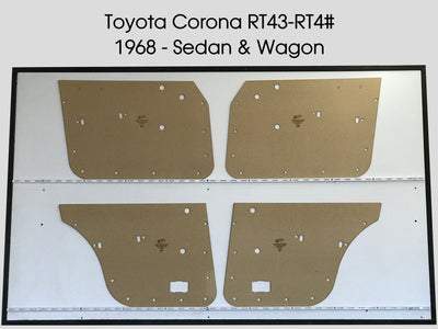 Toyota Corona RT43 - 4# 1968 Sedan, Wagon