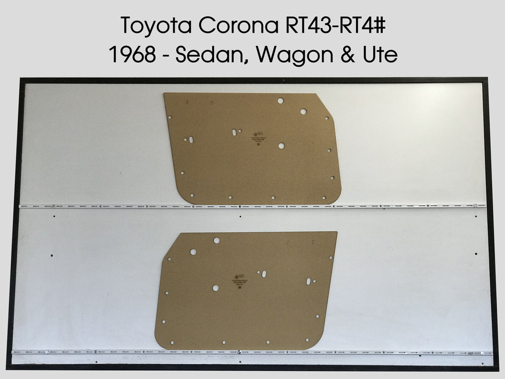 Toyota Corona RT43 - 4# 1968 Sedan, Wagon & Ute