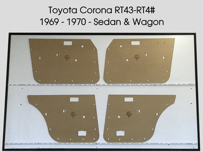 Toyota Corona RT43 - 4# 1969-1970 Sedan, Wagon