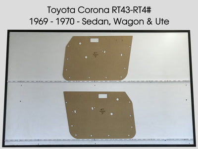 Toyota Corona RT43 - 4# 1969-1970 Sedan, Wagon & Ute