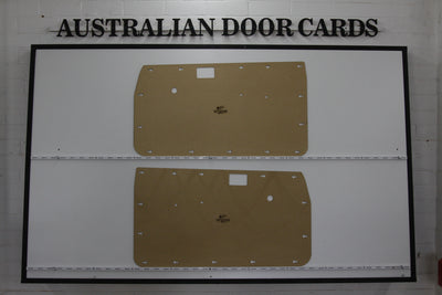 Toyota Hilux Full Height Front Door Cards 4th Gen Aug 1983 - Aug 1988 - Single, Dual Cab Ute Trim Panels