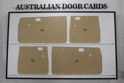 Toyota Hilux Full Height Door Cards Aug 1983 - Aug 1988 (4th Gen) - Single, Dual Cab Ute Trim Panels