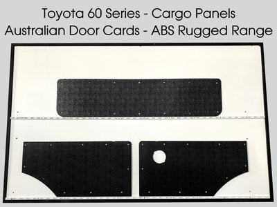Toyota Landcruiser 60 Series Rugged ABS Cargo Trim Panels
