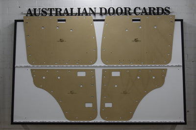 Toyota 70 Series Landcruiser Door Cards - VDJ76, VDJ79 - Wagon, Double Cab Manual Windows