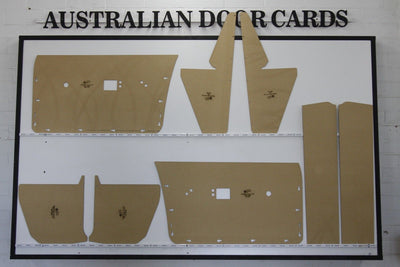 Chrysler Valiant VH, VJ, VK, CM, CL - Door Cards Inc' Kick Panels & Parcel Shelf - Ute