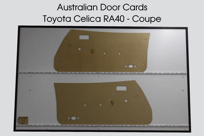Toyota CELICA RA40 Coupe Door Cards