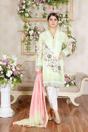 Grape Green | Pakistani Designer Outfit | Sarosh Salman