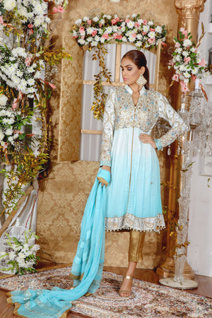 Pakistani Fashion Designer - Luxury Pret Dresses - Sarosh Salman