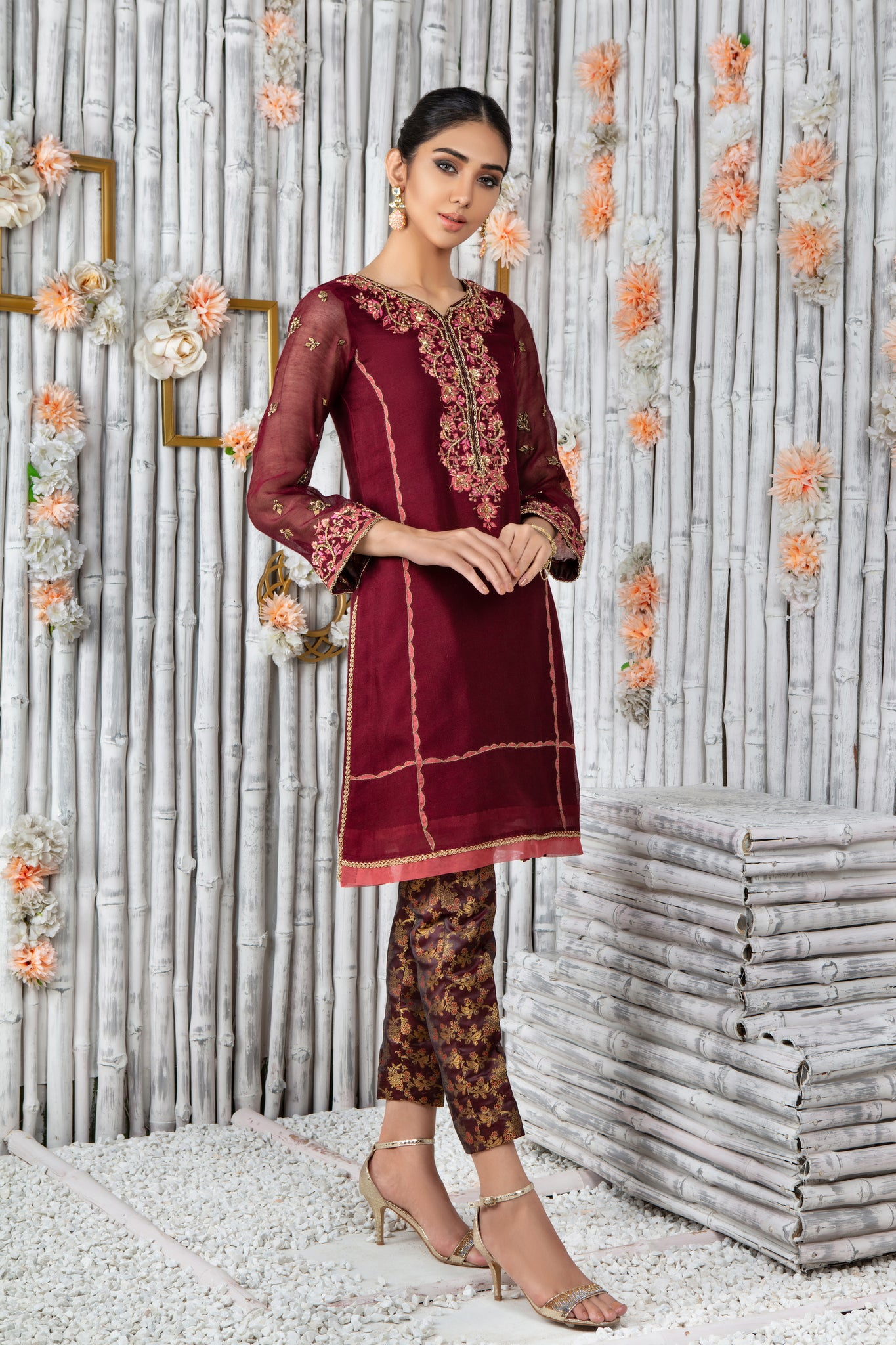 Lattice | Pakistani Designer Outfit | Sarosh Salman