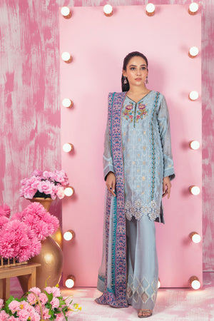 Sea Spray | Pakistani Designer Outfit | Sarosh Salman