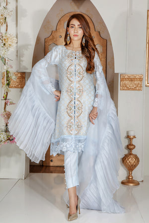 Sea Breeze | Pakistani Designer Outfit | Sarosh Salman