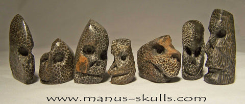 Available soon! E-book about Manus Skulls.