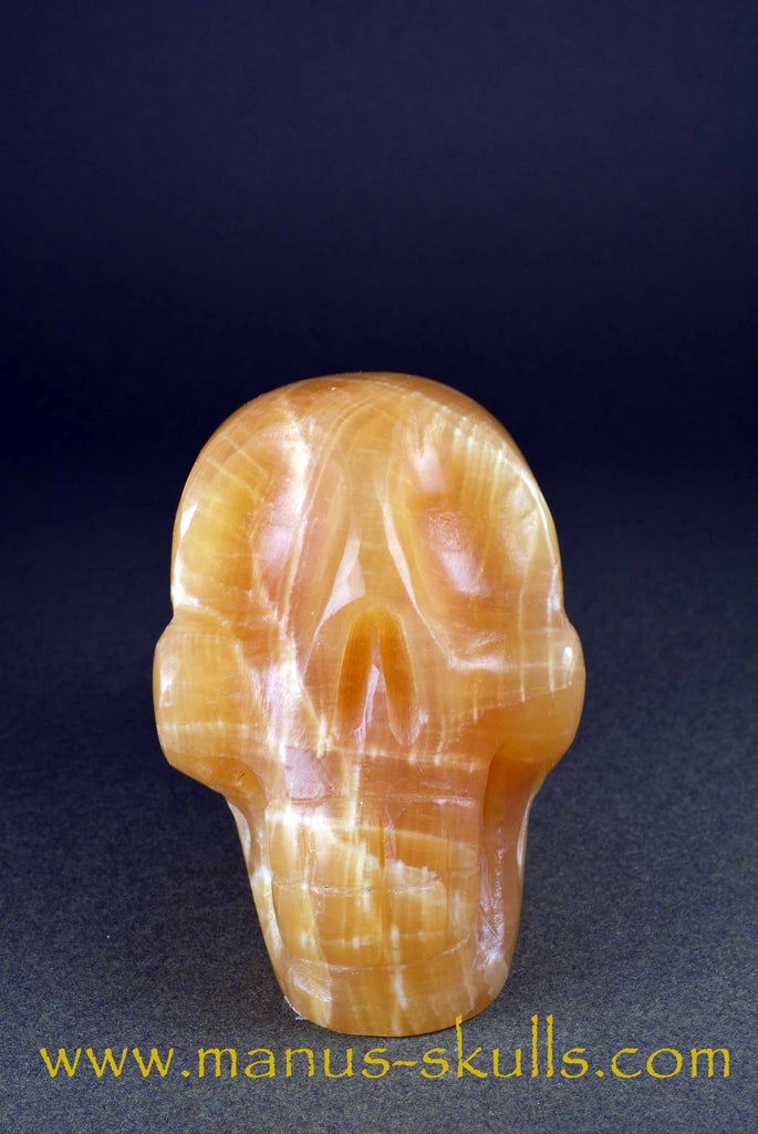 Honey Calcite Skull ......
