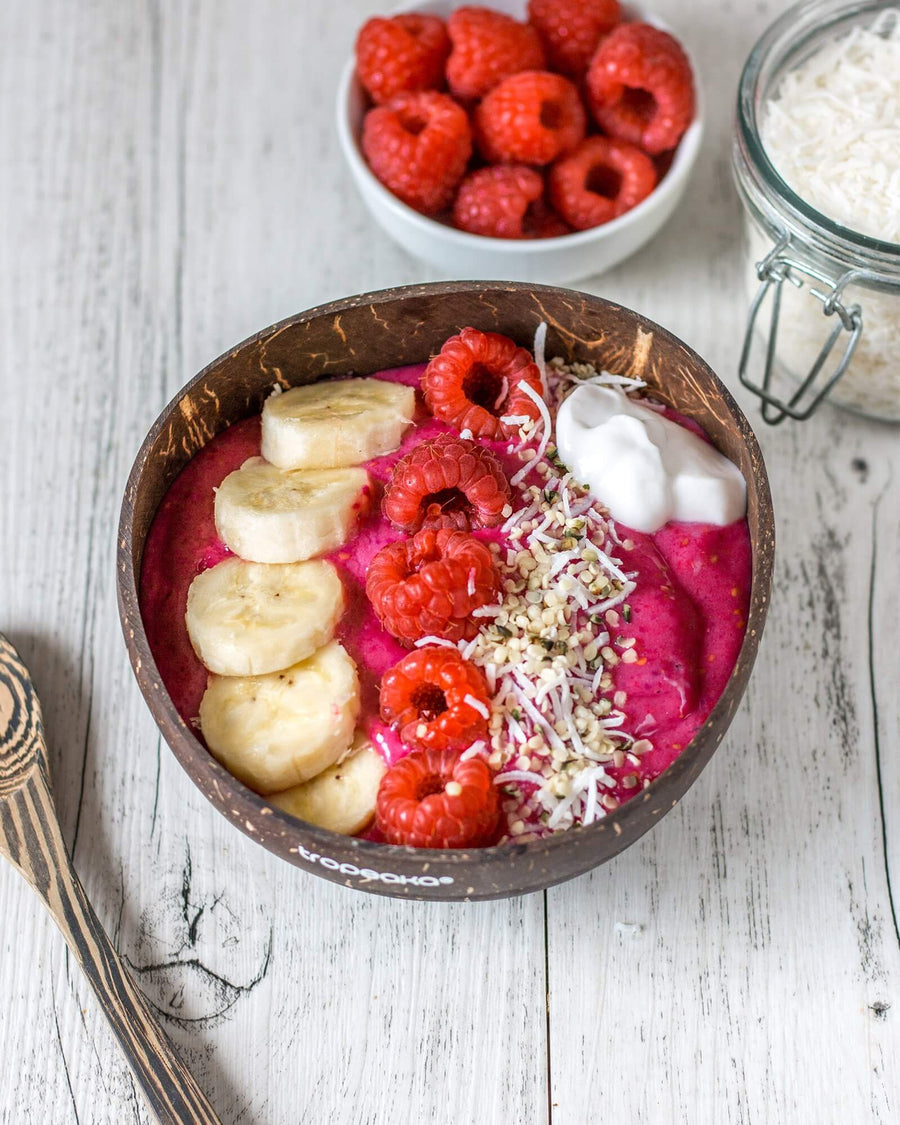 Banana Berry Beetroot Smoothie Bowl