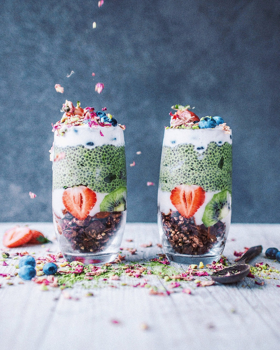 Matcha Superfood Chia Pudding