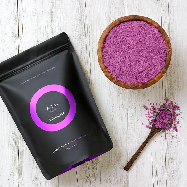 Tropeaka Acai Powder For Energy Metabolism Boost