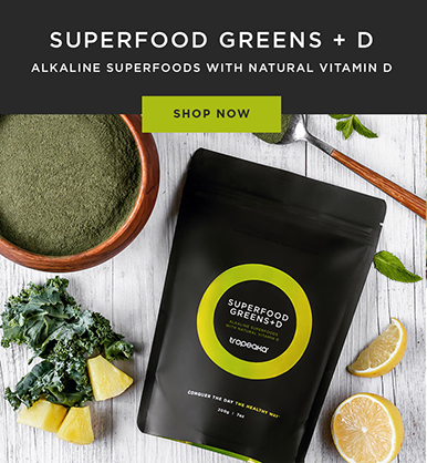 SUPERFOOD GREENS + D – Tropeaka