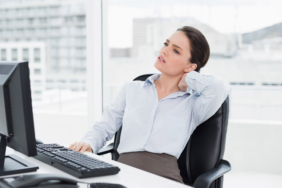 neck pain while sitting