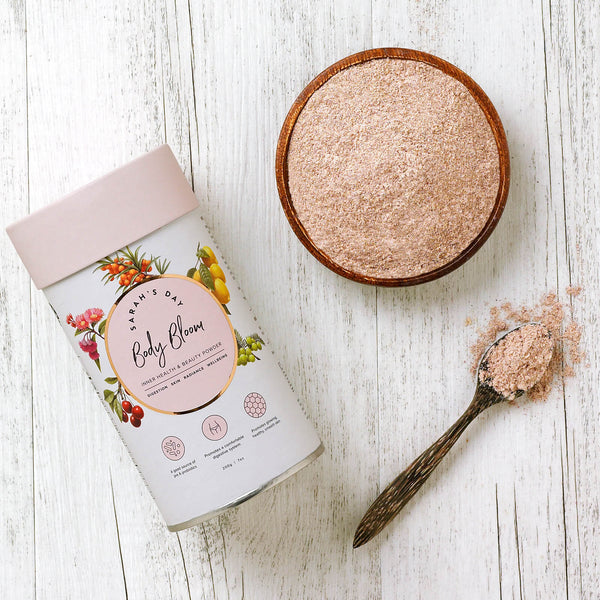 Tropeaka Sarah's Day Body Bloom Powder For Skin Enhancement And Gut Health