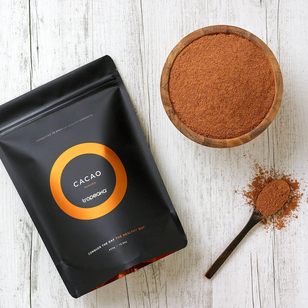 Tropeaka Cacao Powder For Energy Metabolism