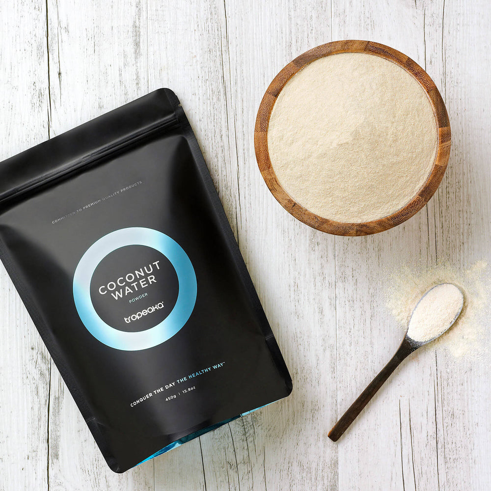 Tropeaka Coconut Water Powder For An All-Natural Hydration