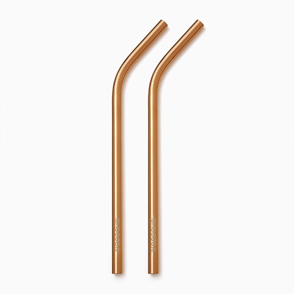 Tropeaka Rose Gold Straws For An Environmentally-Friendly Way To Enjoy Your Favorite Smoothies