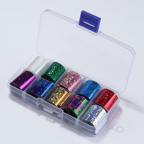 Holographic nail foil kit - Starry