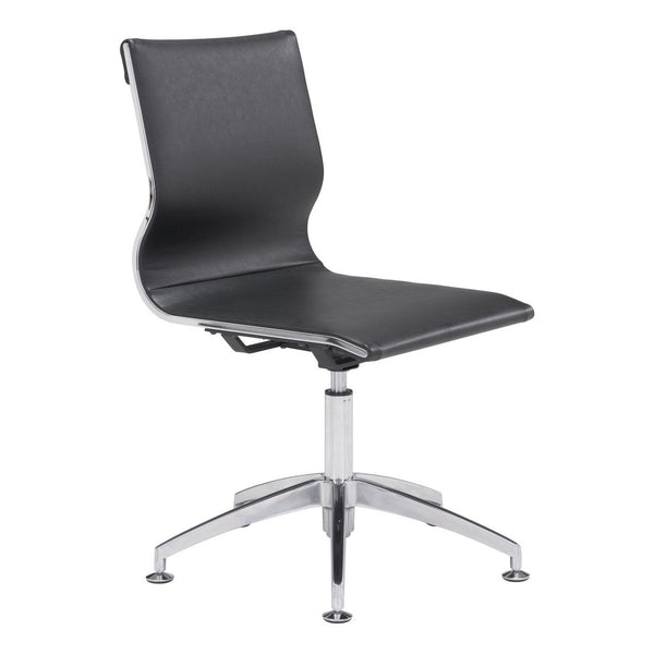 Zuo Modern Glider Conference Chair Black - 100377