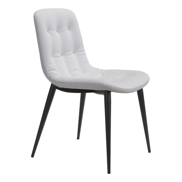 Zuo Modern Tangiers Dining Chair (Set of 2) White - 101083