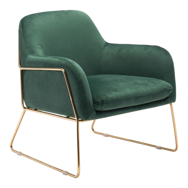 Zuo Modern Nadir Arm Chair Green - 101112