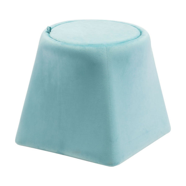 Zuo Modern Botanical Ottoman Light Blue - 101116