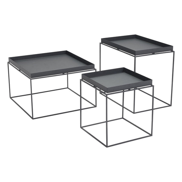 Zuo Modern Gaia Nesting Tables Black - 101160