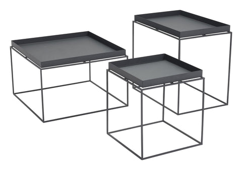 Zuo Modern Gaia Nesting Table Black - 101160
