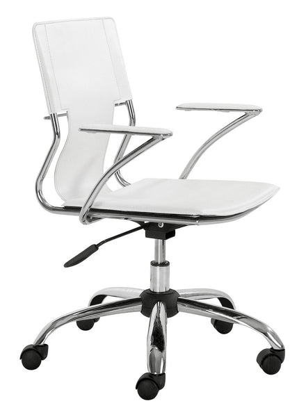 Zuo Modern Trafico Office Chair White - 205182