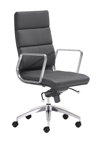 Zuo Modern Engineer High Back Office Chair Black - 205892