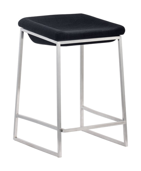 Zuo Modern Lids Counter Stool Dark Gray | Set Of 2 - 300037