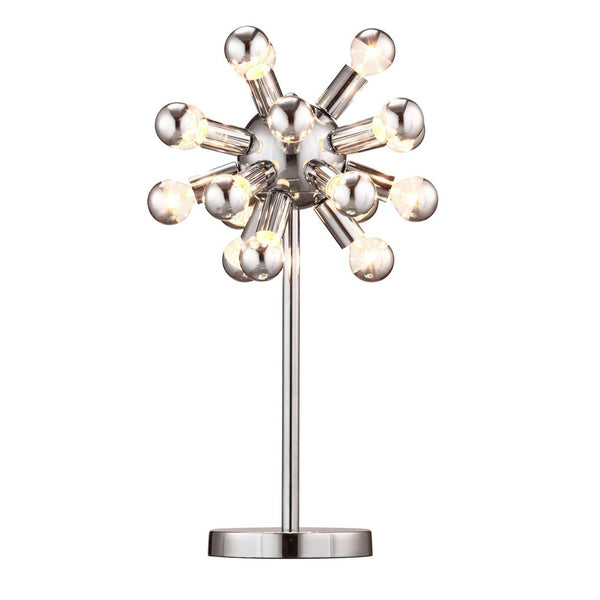 Zuo Modern Pulsar Table Lamp Chrome - 50007